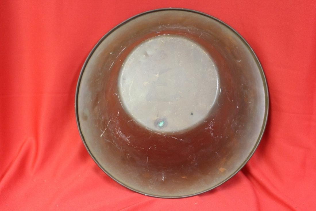 A Vintage Copper Bowl - 2