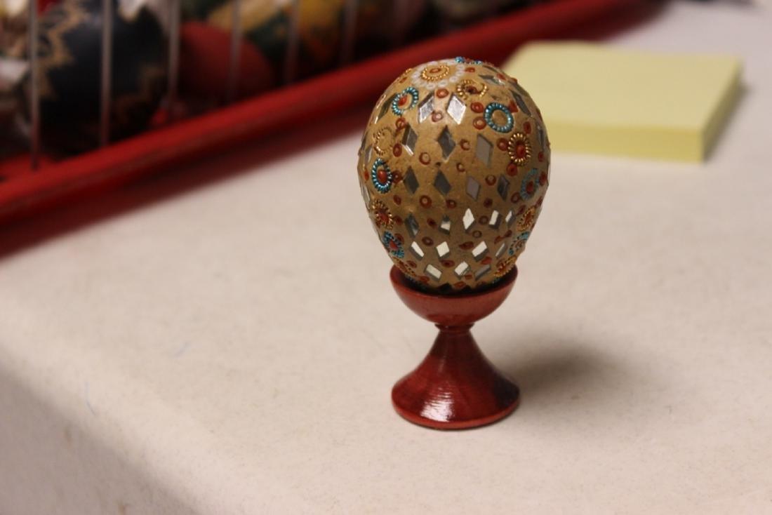 A Decorative Egg on Stand