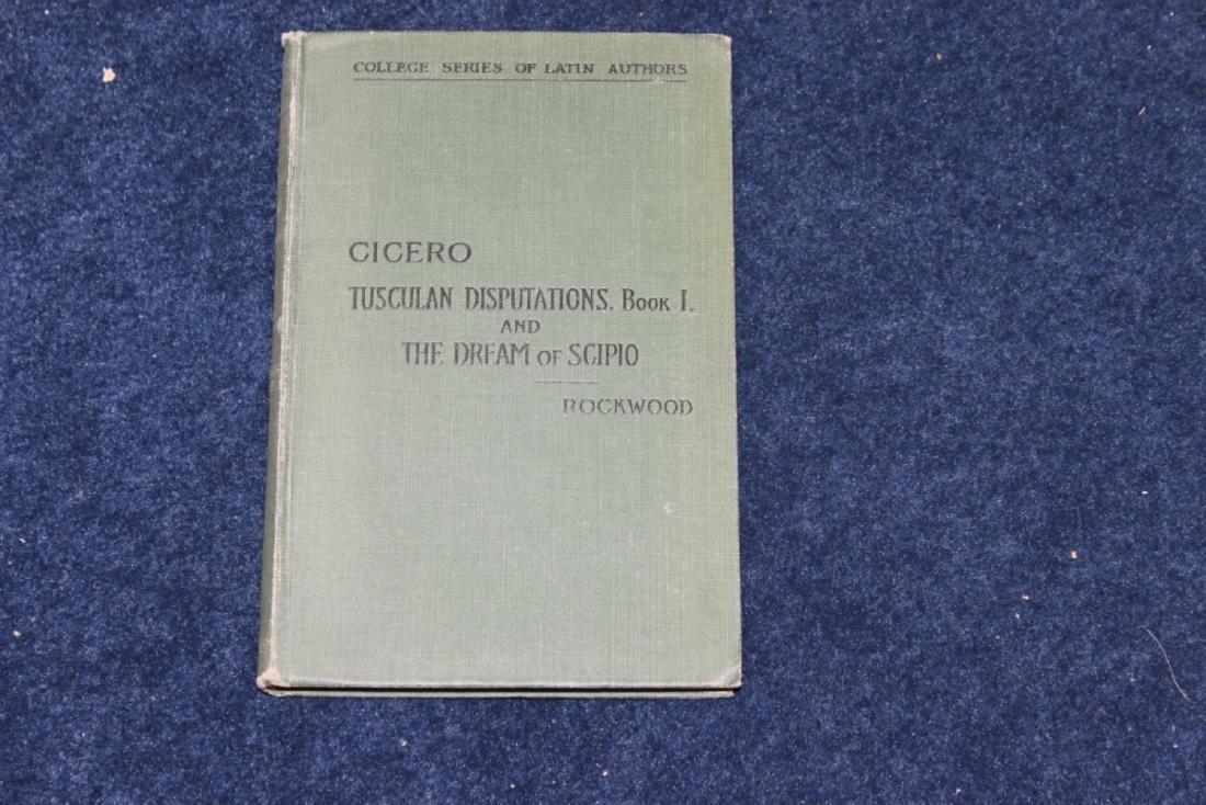 Book - Cicero by Rockwood