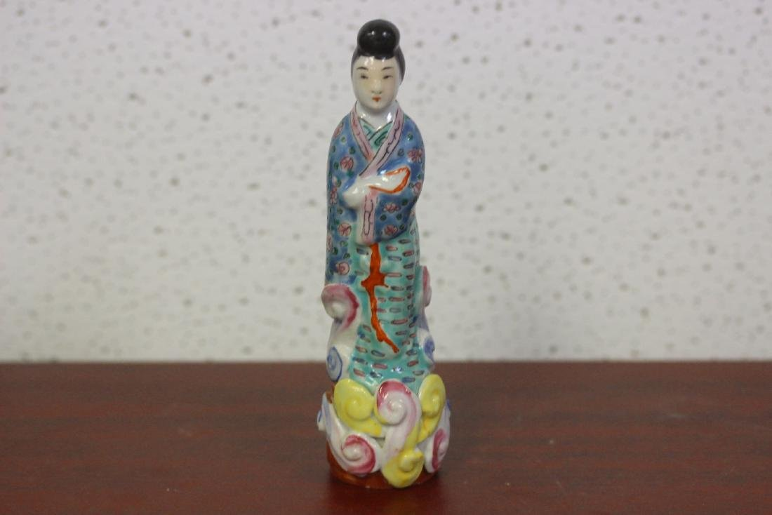 An Antique Chinese Porcelain Lady