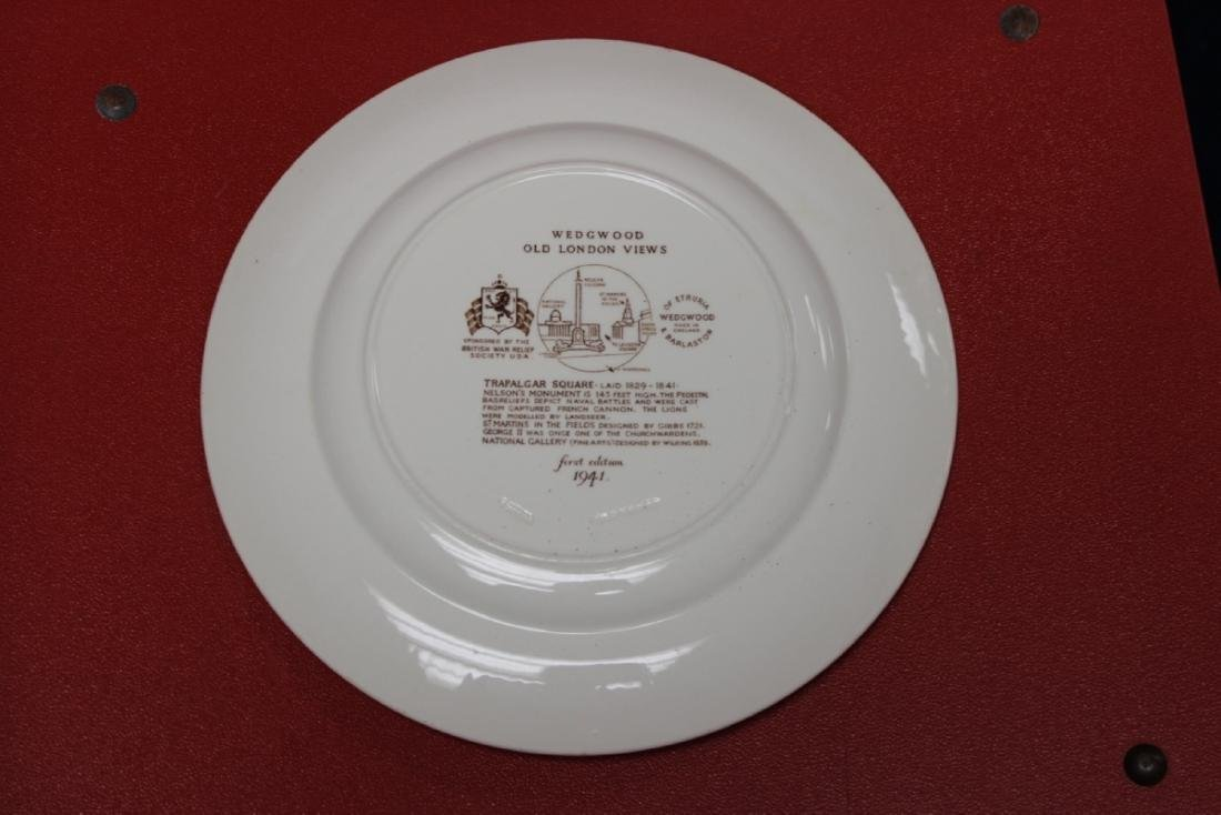 A Wedgewood Old London View Plate - 2