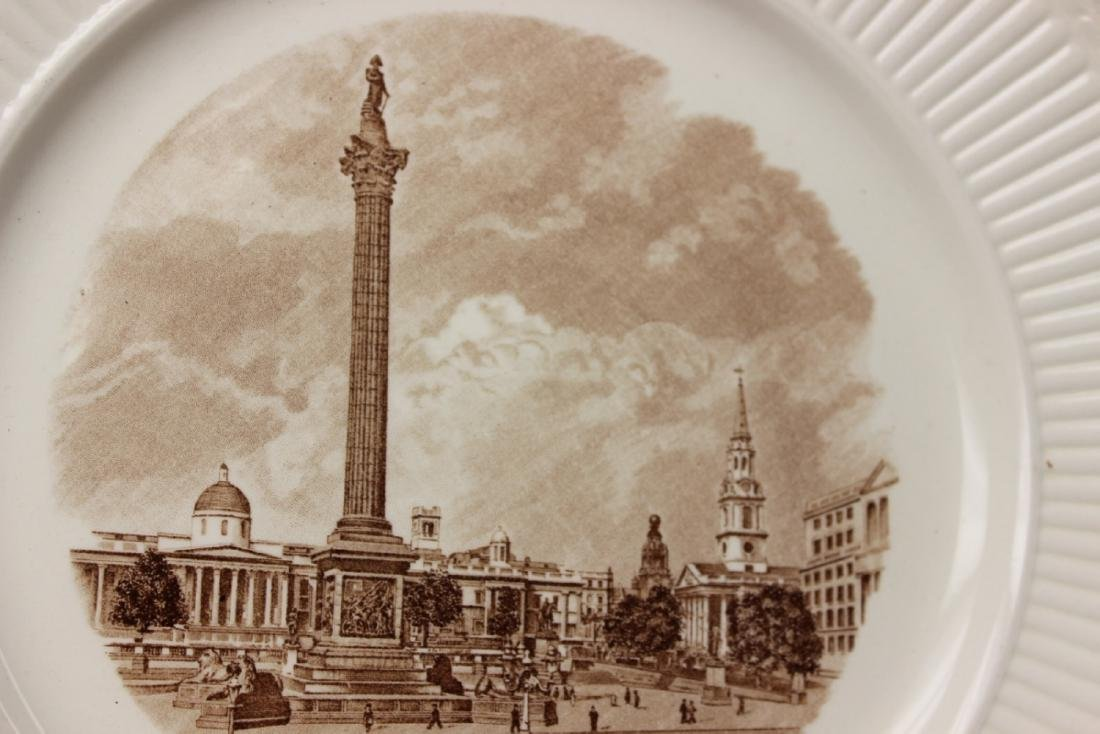 A Wedgewood Old London View Plate - 4