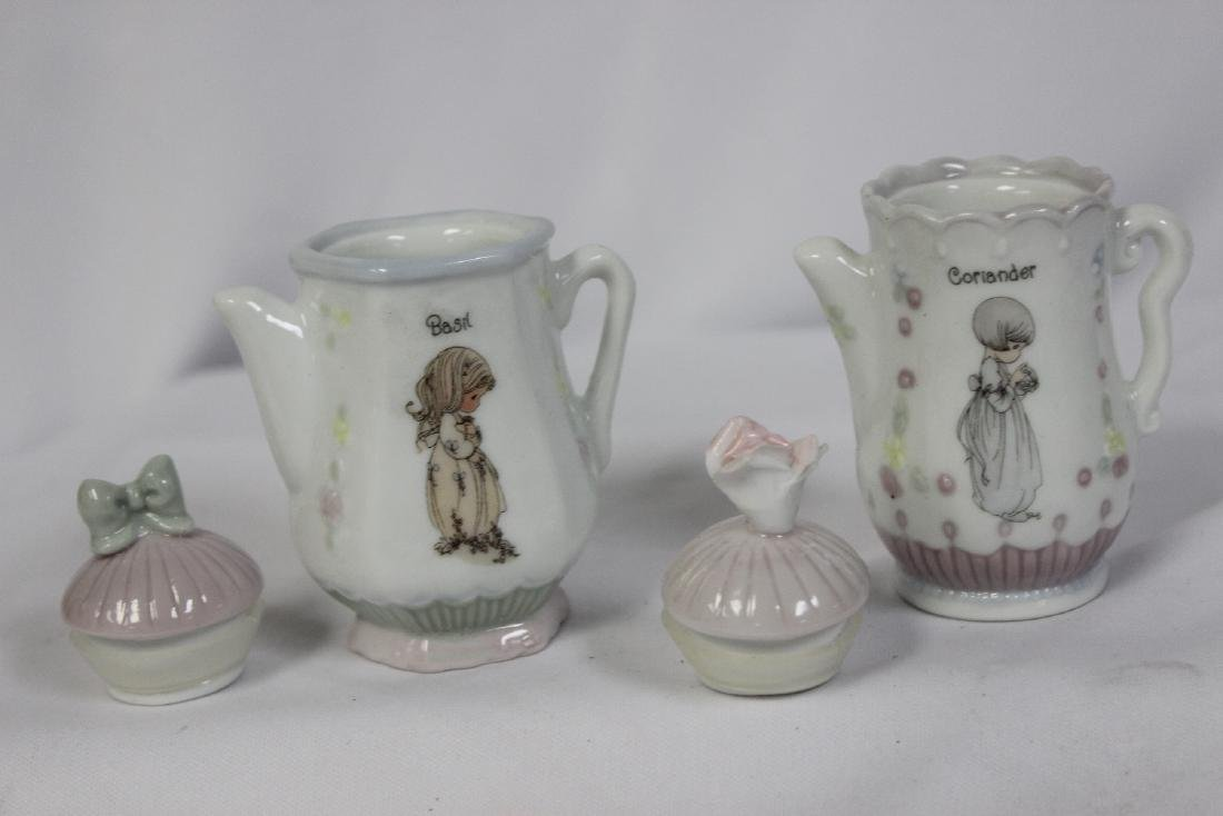 A Pair of Precious Moments Spice Containers - 2