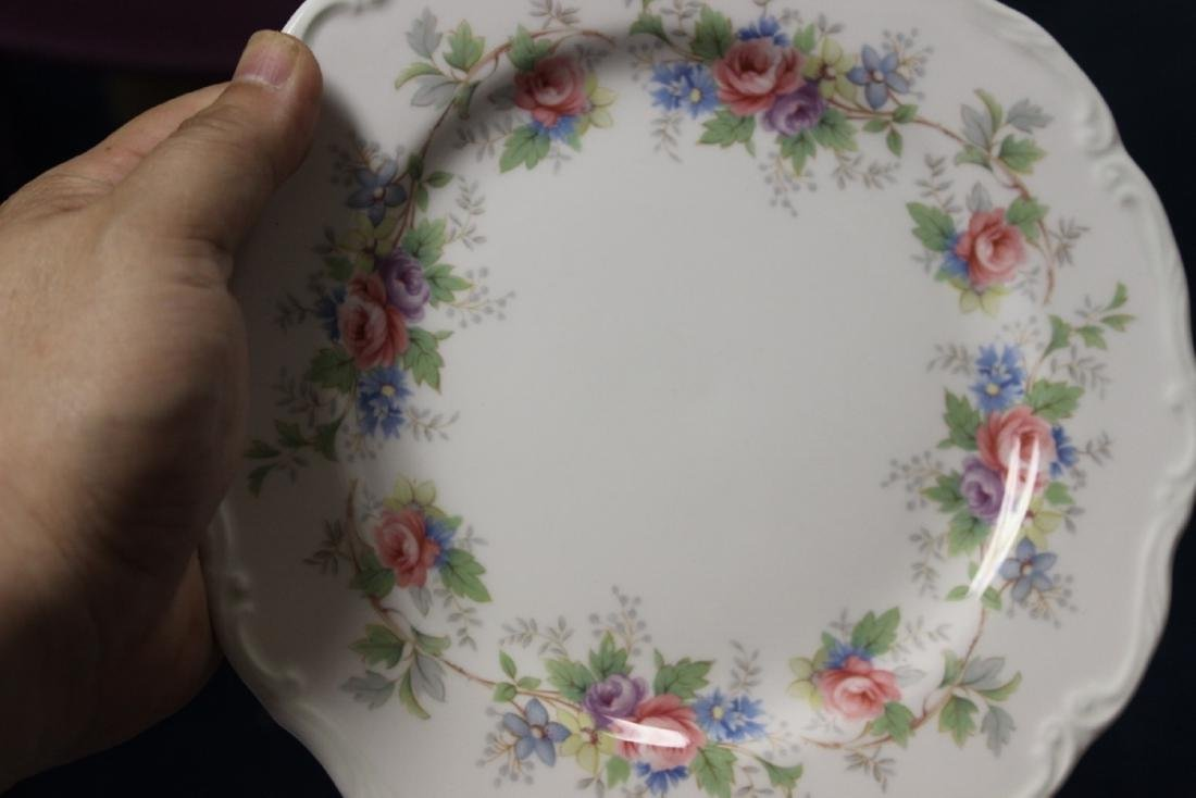 """A Pair of Royal Albert Plates """"Colleen"""" Pattern - 2"""