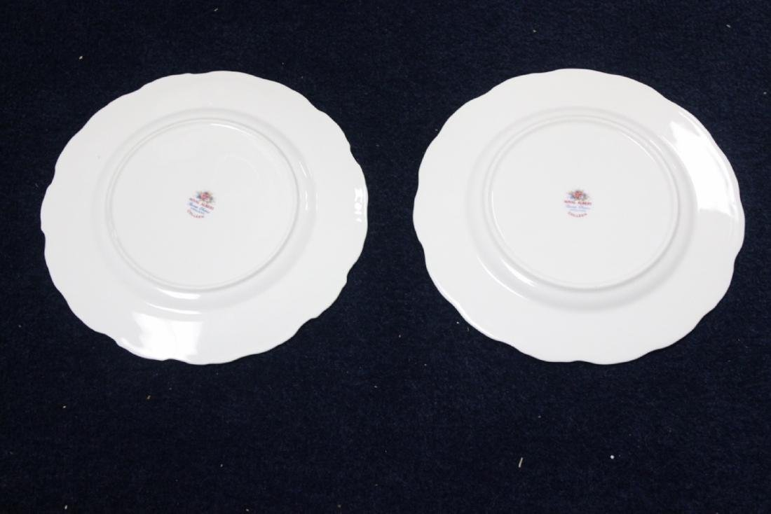 """A Pair of Royal Albert Plates """"Colleen"""" Pattern - 3"""