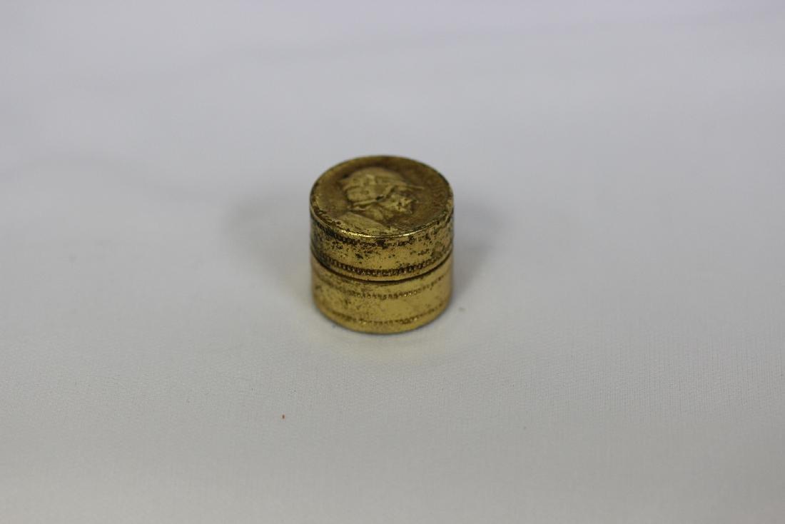 a Small Vintage Trinket Box