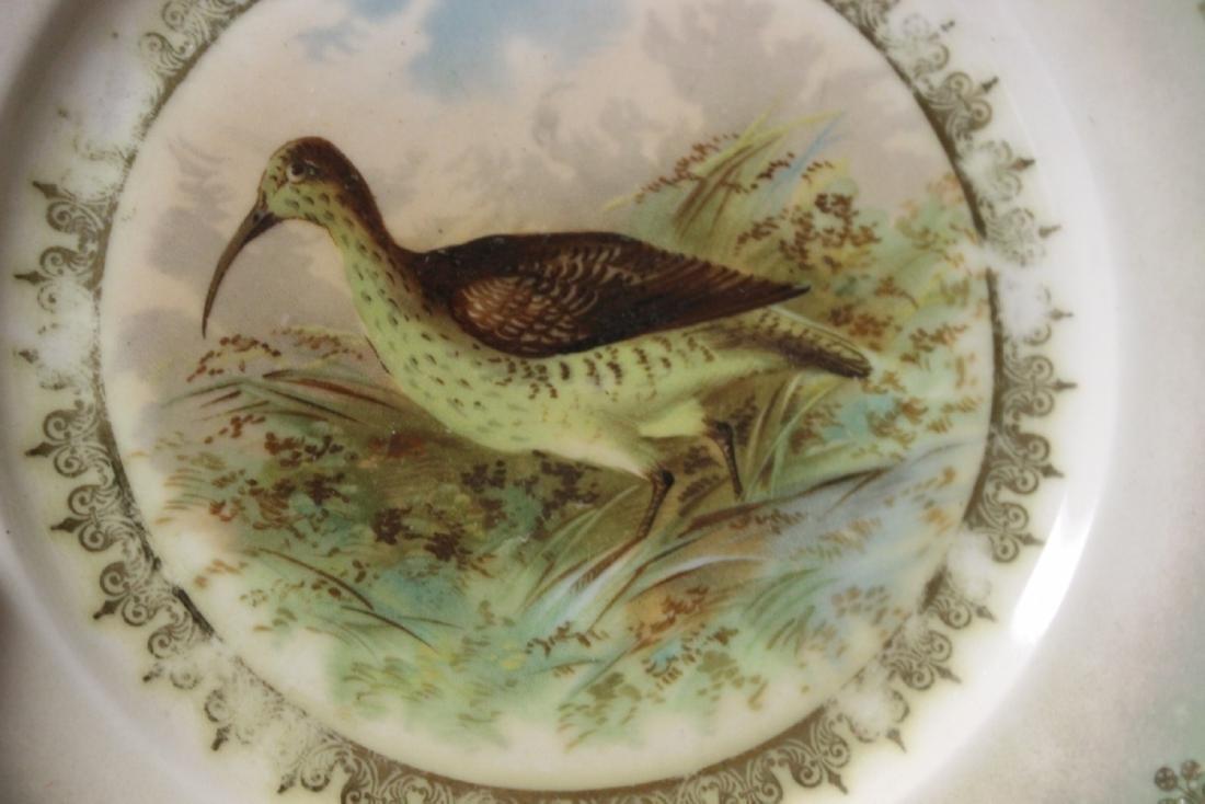 An MZ Austria Plate - Bird Motief (worn) - 2