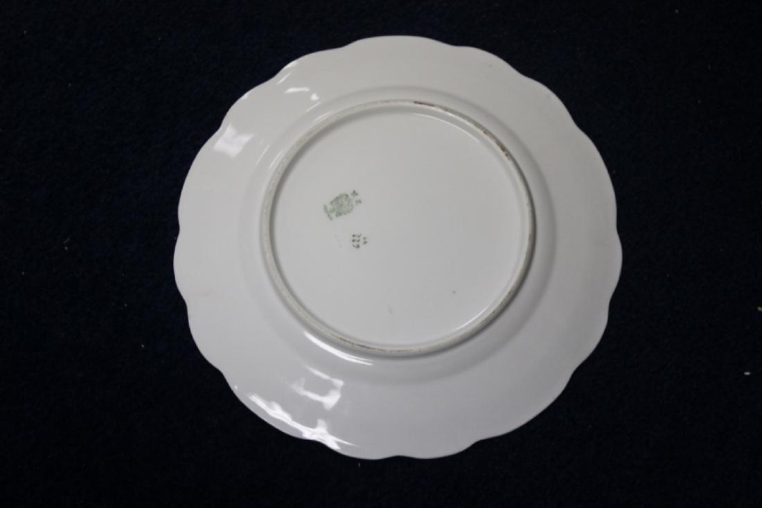 An MZ Austria Plate - Bird Motief (worn) - 5