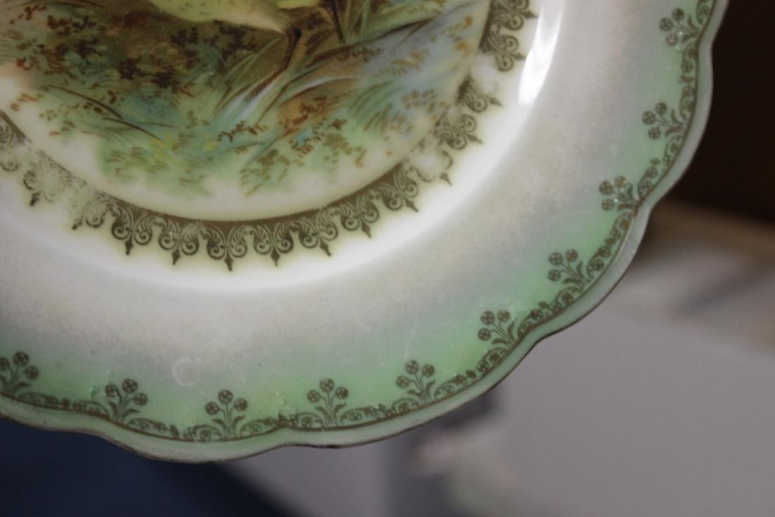 An MZ Austria Plate - Bird Motief (worn) - 6