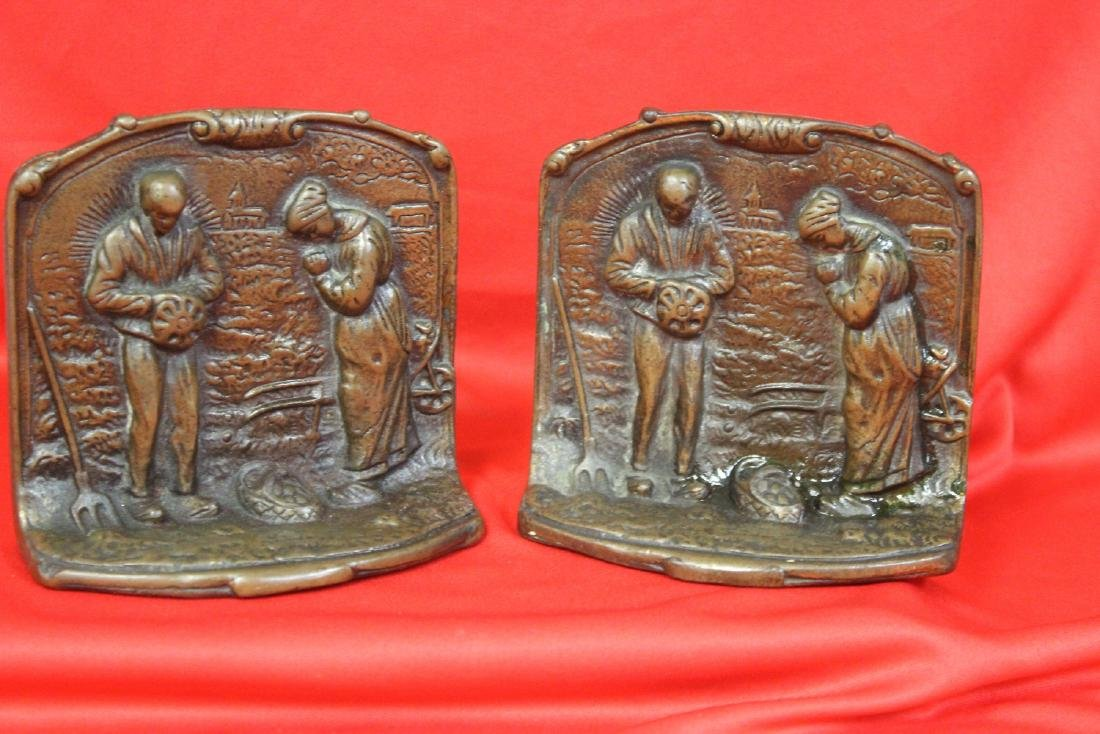 Pair of Cast Iron Bookends