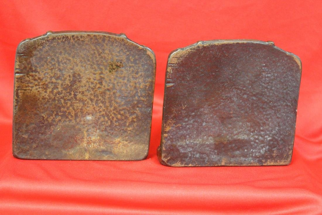 Pair of Cast Iron Bookends - 3