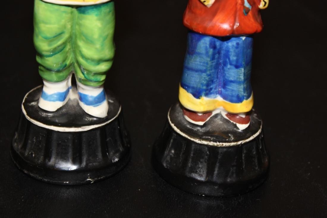 Lot of Two Vintage Japanese Figurine - 4