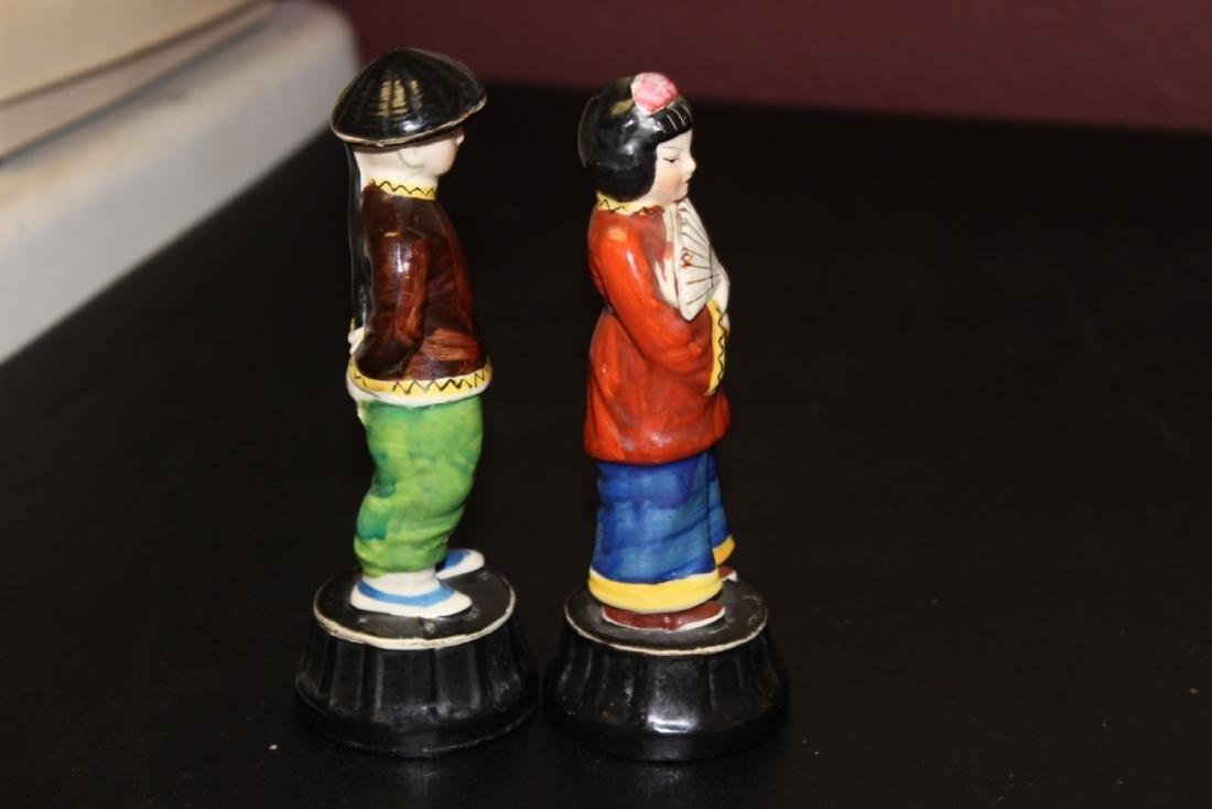 Lot of Two Vintage Japanese Figurine - 5