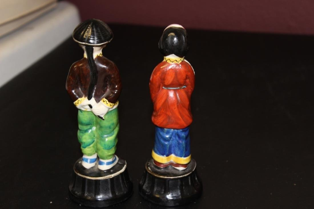 Lot of Two Vintage Japanese Figurine - 6