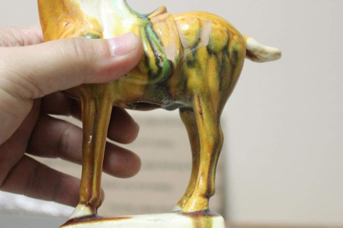 A Decorative Chinese Pottery Horse - 4