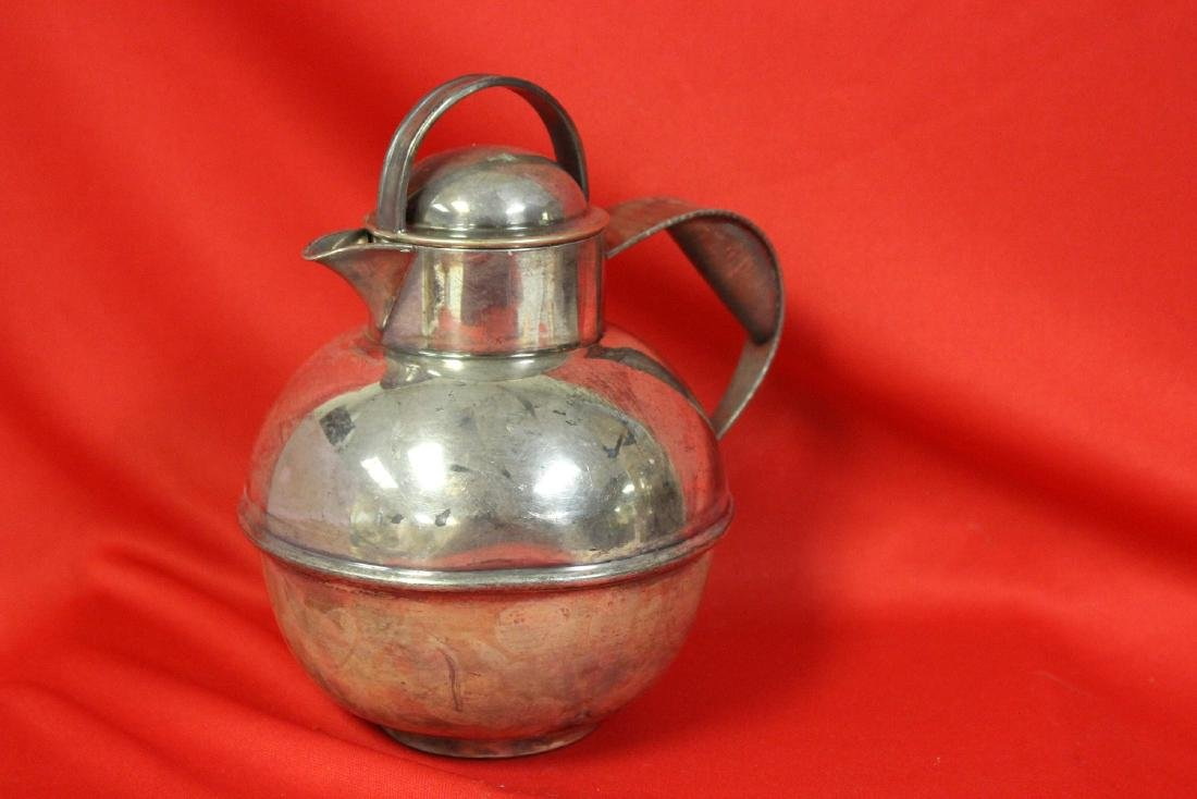 A Silverplated Teapot