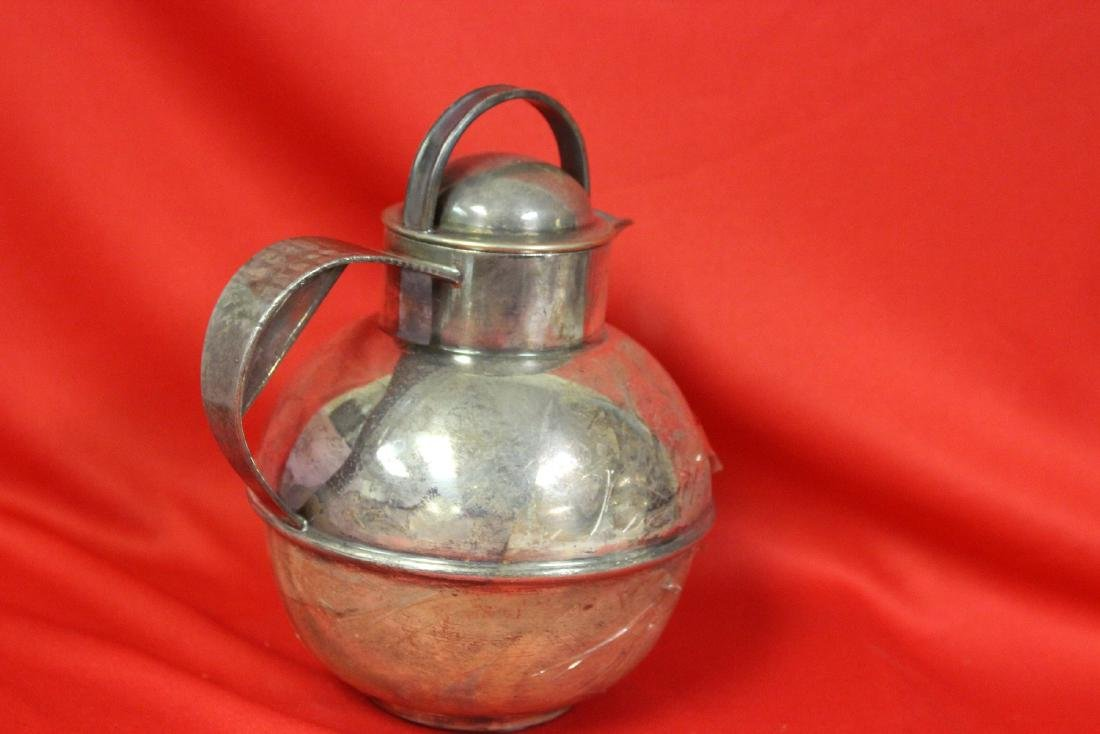 A Silverplated Teapot - 3