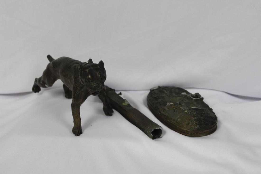 A Metal Bulldog
