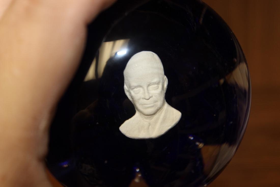 A Paperweight of President Dwight Eisenhower - 3