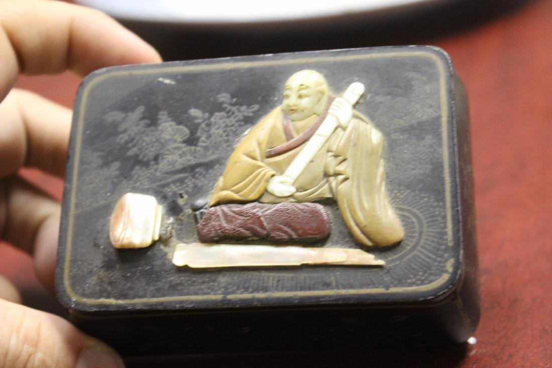 A Chinese/Japanese Lacquer Box