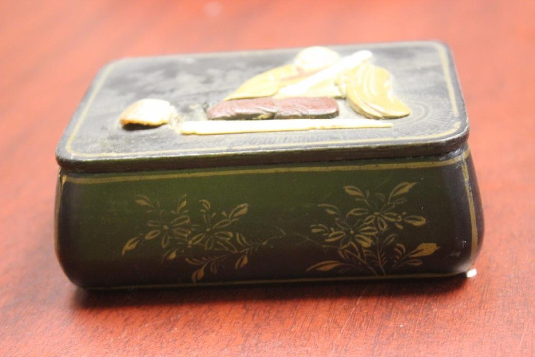 A Chinese/Japanese Lacquer Box - 2