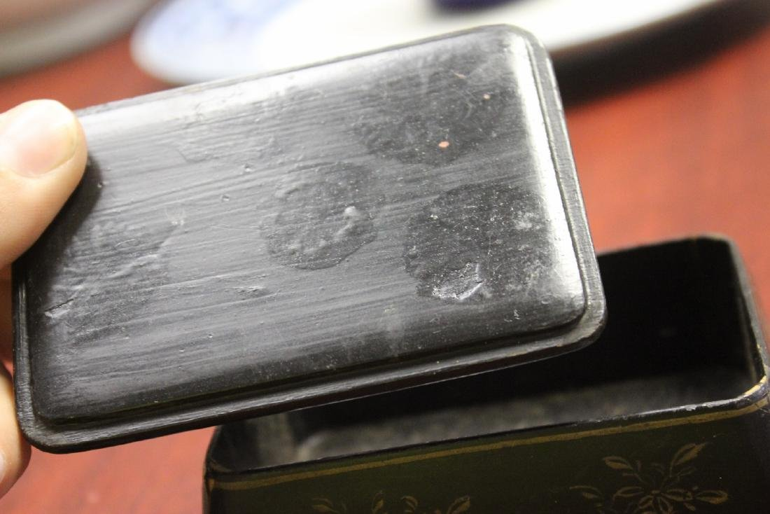 A Chinese/Japanese Lacquer Box - 4