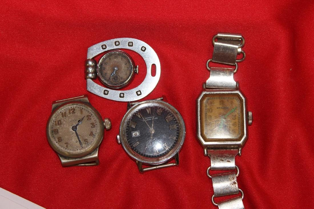 Lot of 4 Watches