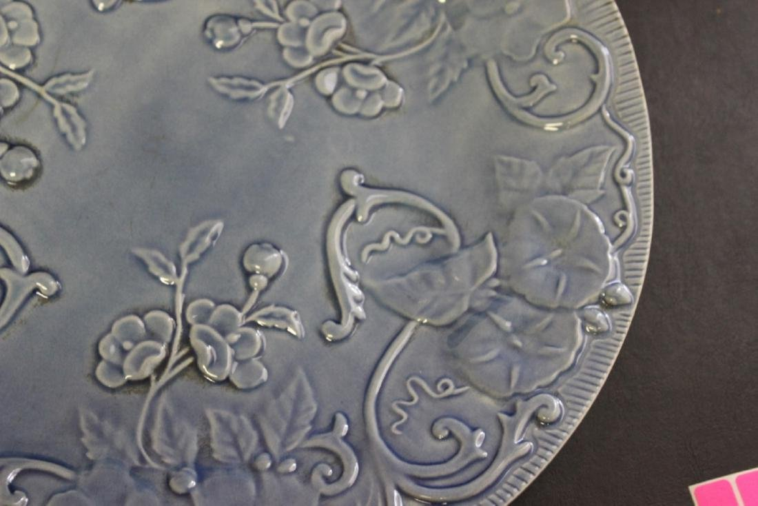 A Majolica Style Portugal Pottery Charger by Bordello - 7