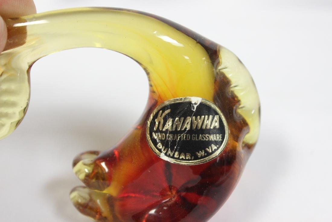 An Art Glass Whale - 3