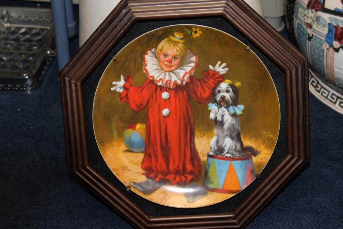 A Collector's Plate - Framed
