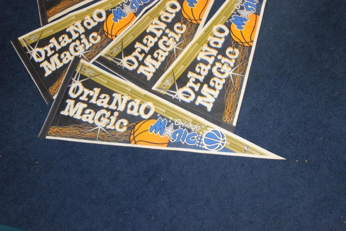 A Lot of 5 Orlando Magic Pennants - 2