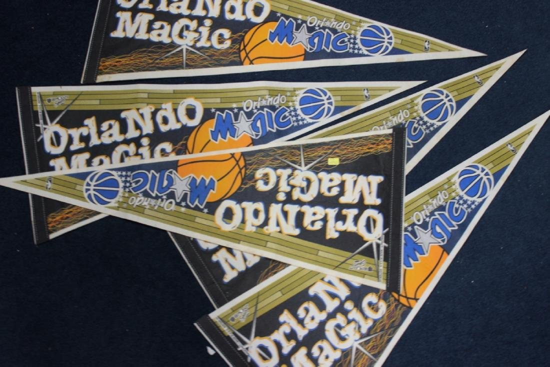 A Lot of 5 Orlando Magic Pennants - 4