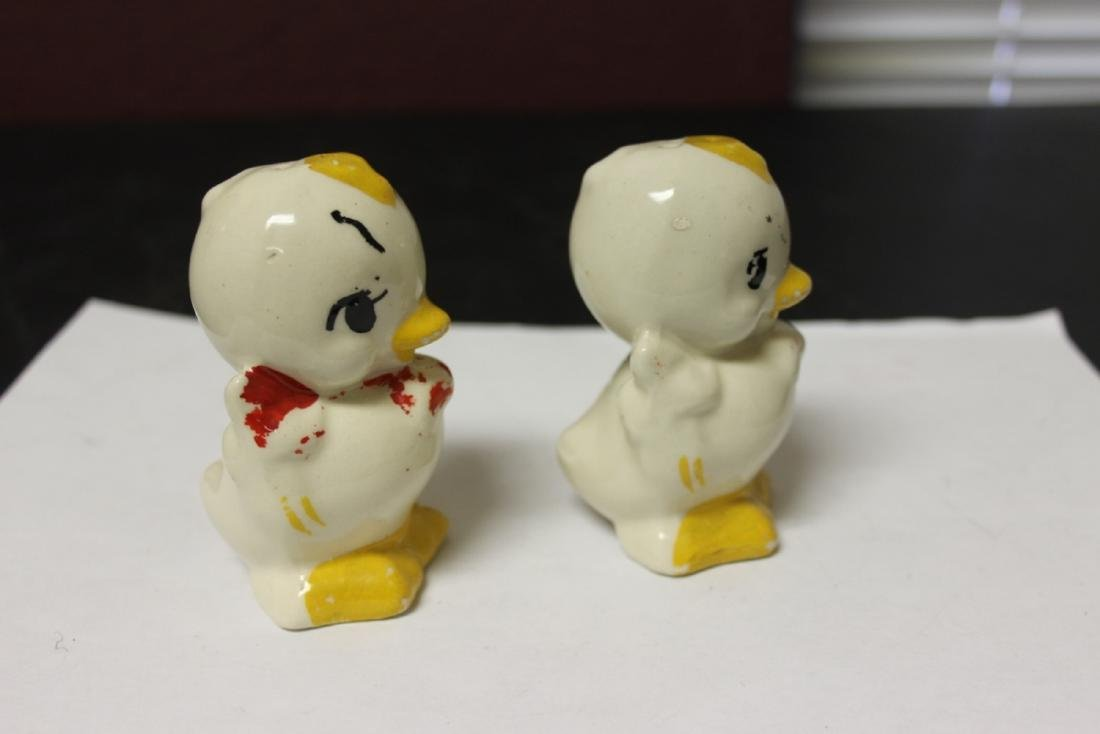 A Pair of Salt and Pepper Shakers - 2