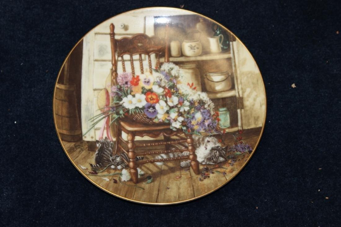 Collector's Plate by Glenna Kurz