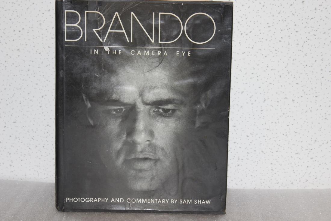 A Hardcover Book on Marlon Brando