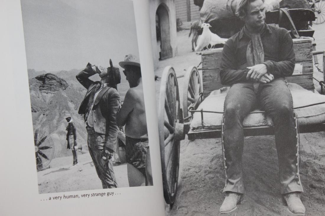 A Hardcover Book on Marlon Brando - 2
