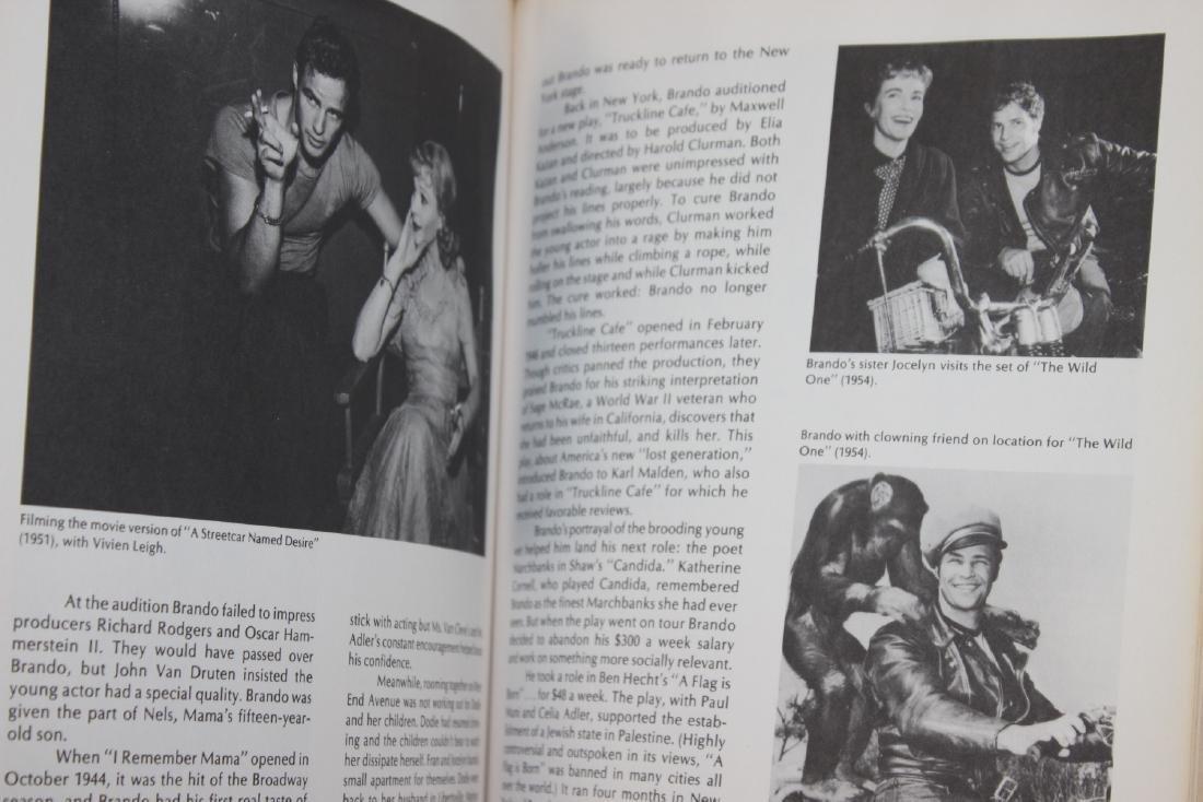 A Hardcover Book on Marlon Brando - 4