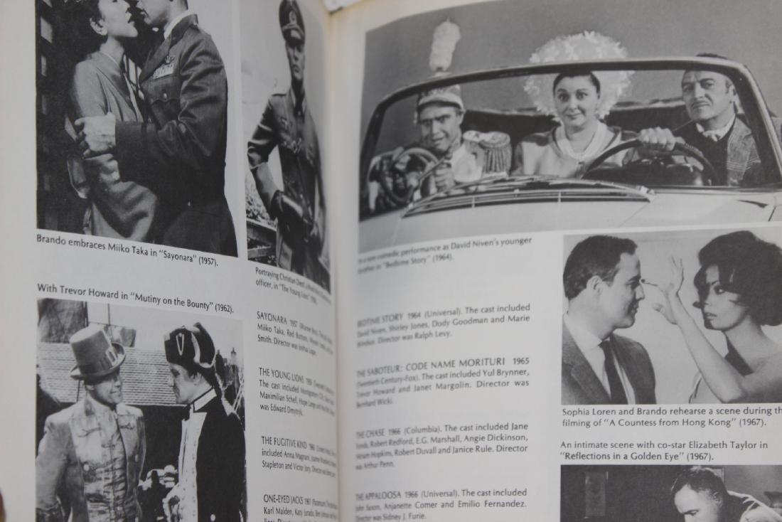 A Hardcover Book on Marlon Brando - 6