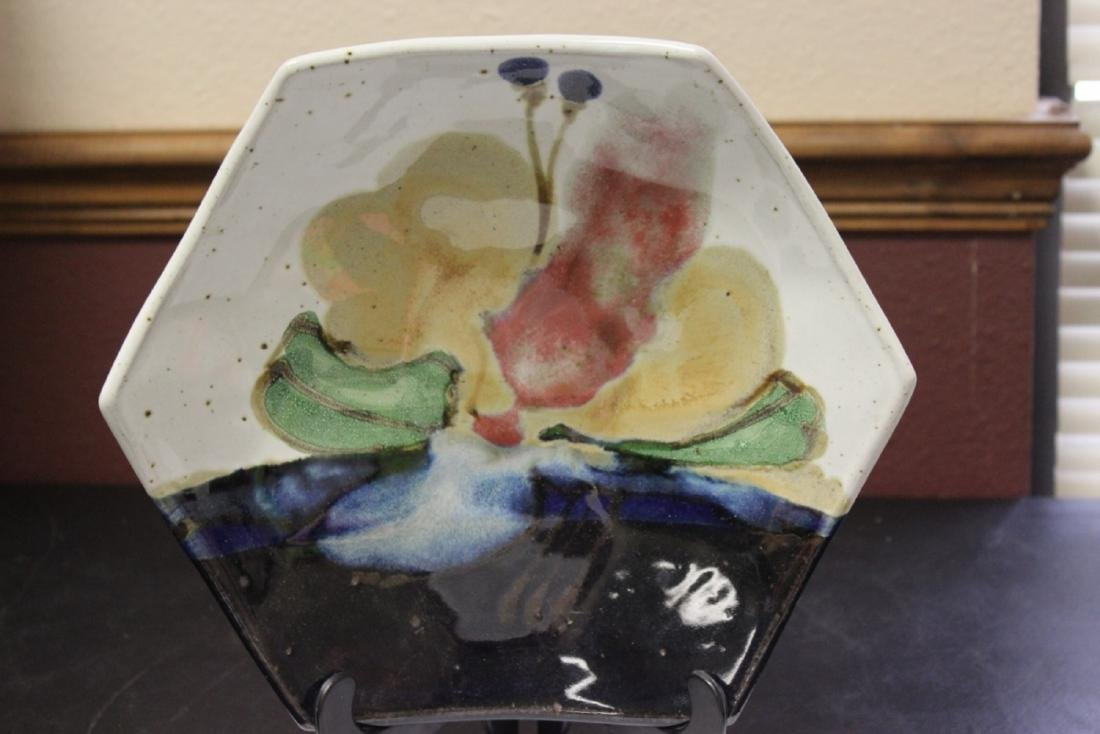 A Pottery Bowl - Signed Chapelle