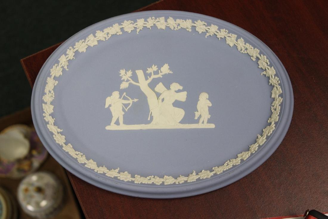 A Wedgwood Jasperware Oval Dish