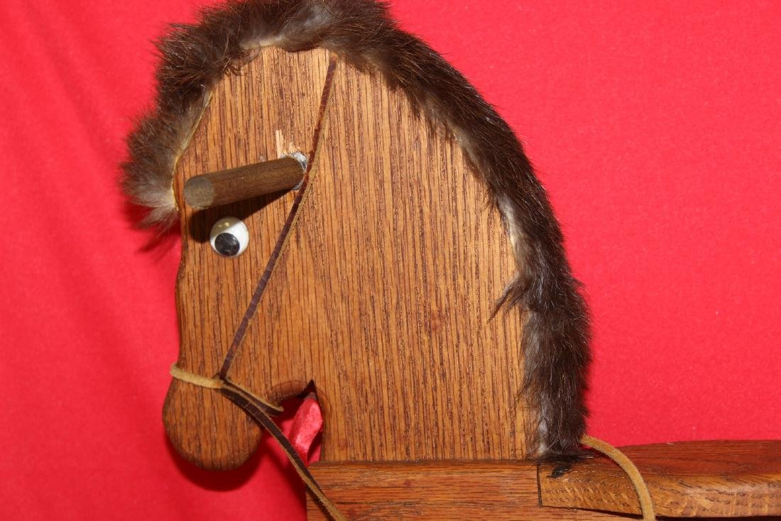 A Wooden Rocking Horse - 2