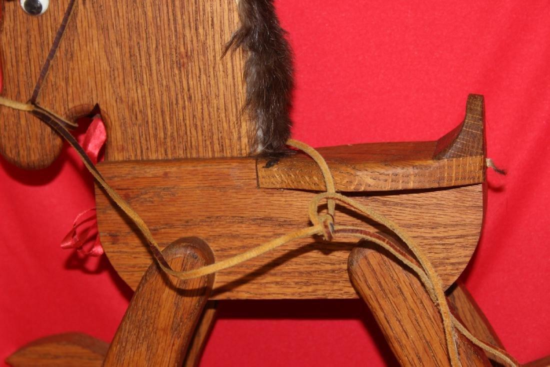 A Wooden Rocking Horse - 3