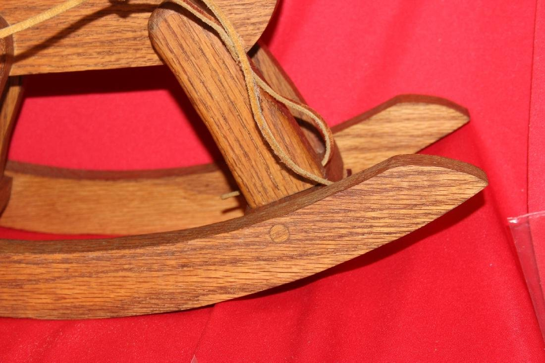 A Wooden Rocking Horse - 6