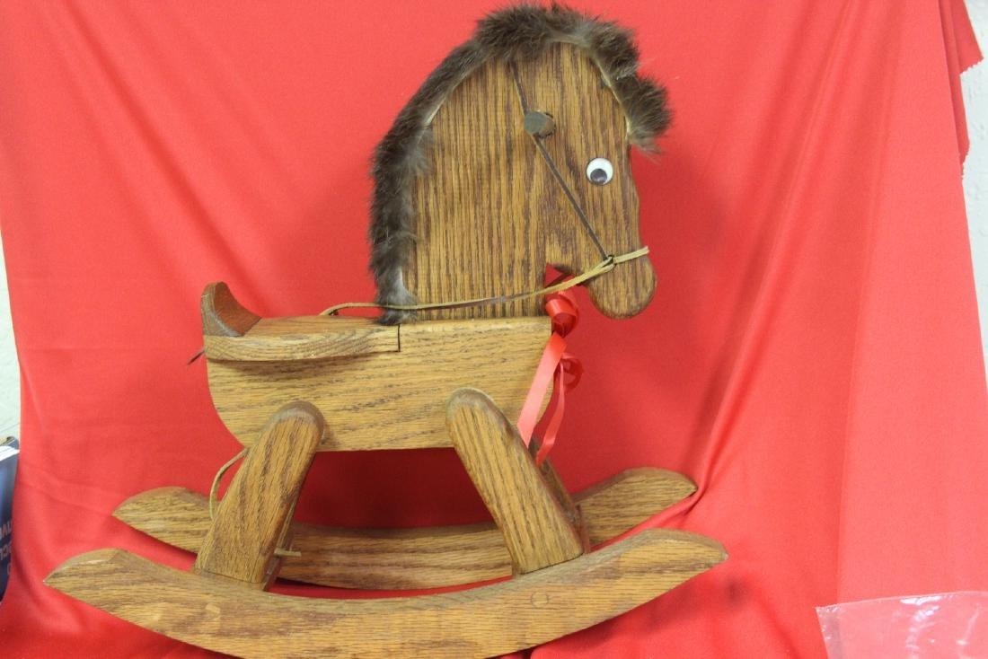 A Wooden Rocking Horse - 7
