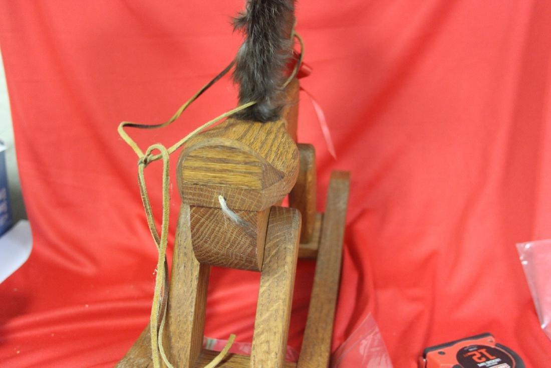 A Wooden Rocking Horse - 8