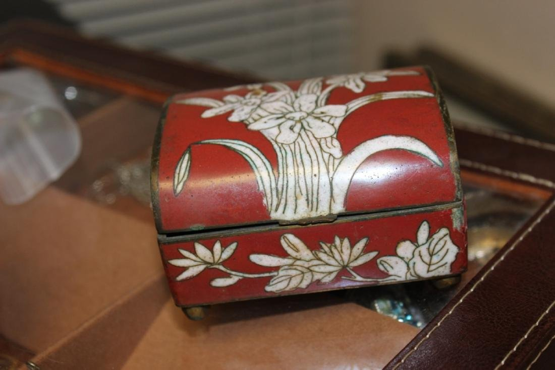 An Antique Chinese Cloisonne Box