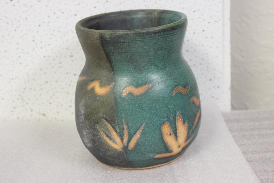 A Signed Art Pottery