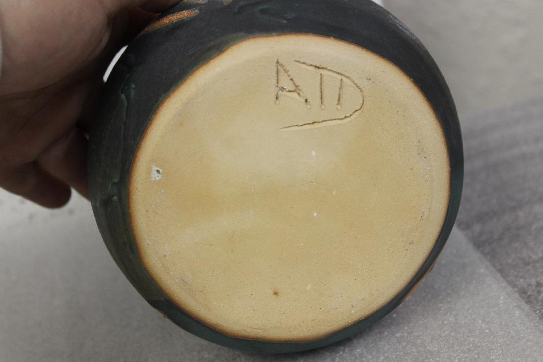 A Signed Art Pottery - 5