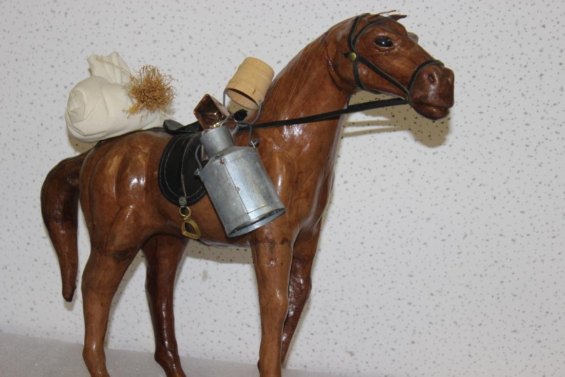 A Leather Horse