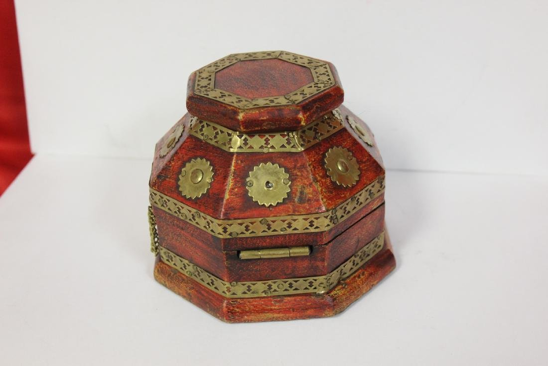 A Decorative Wood Box - 3